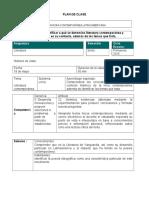 Formato Plan Clase Literatura II Bachillerato General Vanguardias