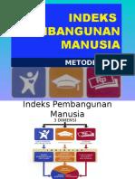 INDEEKS PEMBANGUNAN MANUSIA