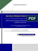 Oilfield Production Planning - Federico Gorrini