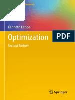 Optimization - K. Lange