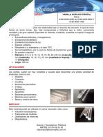 Fichas Tecnica de Las Varilla Acrilico Cristal Clave 0180 0030 0050 Al 0180 0030 0950