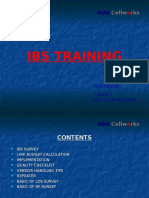 60930775 IBS Training Module