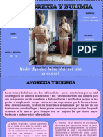 Presentación1 de La Anorexia y Bulimia