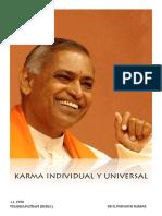 Karma Individual y Universal