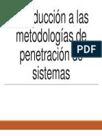 Introducción a Las Metodologías de Penetración de Sistemas
