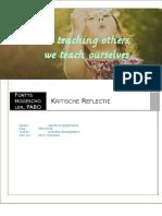 kiritische reflectie ogp 3