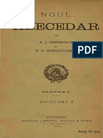 Vasile Grigore Borgovan - Noul Abecedar. Partea 1