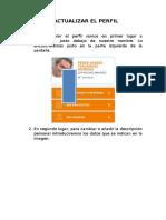 modificar perfil plataforma eTwinning