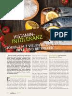Histaminintoleranz Histaminose Teil 1-3 – Störung Mit Vielen Gesichtern Seiten - Www.natur-wissen.com - LEBE Natürlich Magazin 02-04-2015 - Zusammengestellt Von Clemens Ratte-Polle