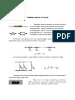 Elemente Pasive de Circuit