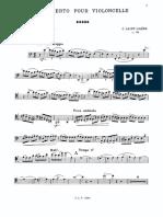 Saint-Saens  Cello Concerto No. 1 Op. 33