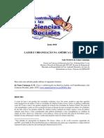 Lazer e Urbanização Na América Latina Luiz Octávio de Lima Camargo