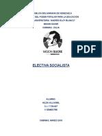 Poder Electoral. Hilda