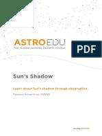 Suns Shadow AstroEDU 1503