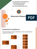 Polímeros.