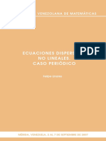 EcuacionesDispersivasNoLineales