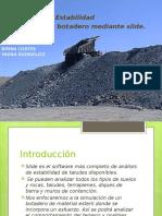Análisis de Estabilidad de Talud en Botadero Slide