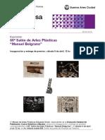 Gacetilla 60 Salon de Artes Plásticas Manuel Belgrano.doc