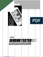 Manual Probador de Sensores Actron