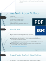 the truth about tattoos- ism mid-term lauren love
