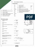 Fómulas Técnicas de Fresamento e Furação