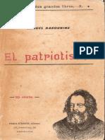 Mikhail Bakunin El Patriotismo