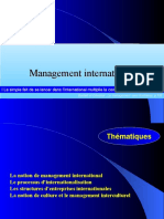 Management International(l Essentiel)