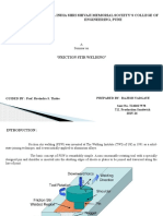 Friction Stir Welding FINAL SEMNAR PPT