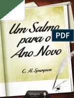 Livro eBook Um Salmo Para o Ano Novo CHARLES ESPURGEON