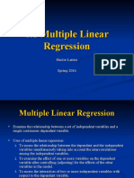 1.2 Multiple Linear Regression