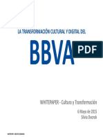 Transformacion Digital y Cultural de Bbva_Silvia Dvorak