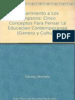 De Sarmiento a los Simpsons (cap 1) - CARUSO y DUSSEL.pdf