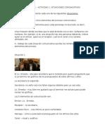 Módulo II MII U1 Actividad 1. Situaciones Comunicativas (1)
