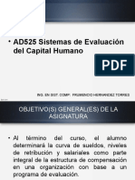 AD525 Sistemas de Evaluación del Capital Humano