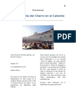 Festival Del Día Del Charro- 1era. Nota