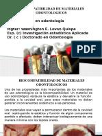 BIOCOMPATIBILIDAD DE MATERIALES DENTALES