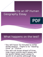 how to write an aphug frq