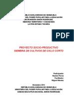Proyecto Productivo Ramón 2015 Mmsr