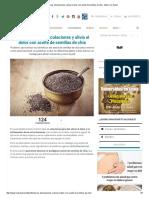Desinflama Las Articulaciones y Alivia El Dolor Con Aceite de Semillas de Chía - Mejor Con Salud