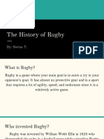 rugby presentation