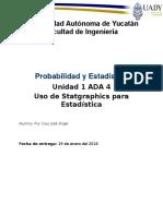 Probabilidad y estaadística