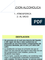 Destilacion Alcoholica