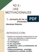 Unidad 3 Teorias Motivacionales