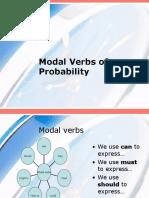 Modal Verbs of Probability Through the Song