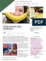 Alimentación Anti-Depresión - Barcelona Alternativa