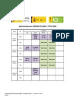 Calendario Iniciativa Emprendedora - Universidad de Salamanca 3º - F.43.205