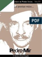Cuaderno de Poesia Critica n 51 Pedro Mir
