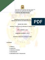 Sílabo (Seminario Construcción de Indicadores de Impacto Social) - Versión Final