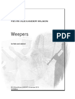Weepers for Flute and Clarinet