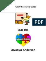 ecd 108 community resources